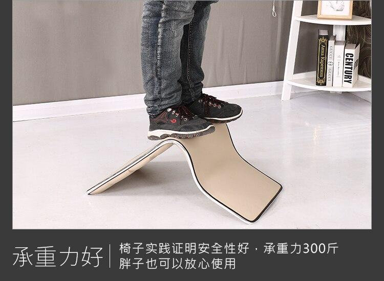 Dormitory Bed Chair Backrest Japanese Tatami and Room Chair Stool Sofa Tatami Chair Floor PU Waterproof