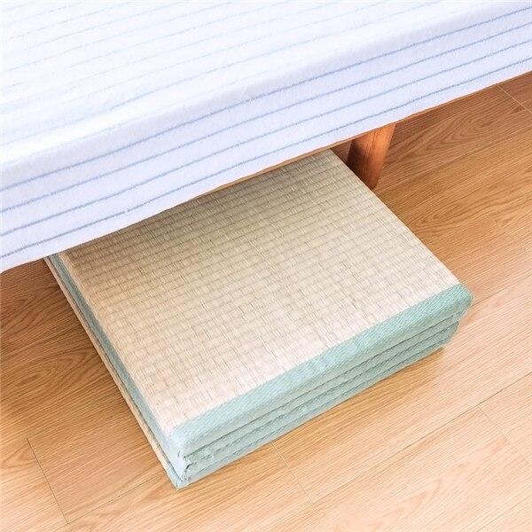 15%,Japanese Traditional Tatami Mattress Mat Rectangle Large Foldable Floor Straw Mat For Yoga Sleeping Tatami Mat Flooring