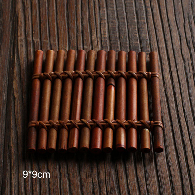 Chinese Teaism Teacup Mat Tea Table Decorative Cup Pad Multi-designs Quietly Elegant Coaster for Tea Cup Tea Ceremony Supplies