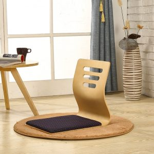 A Set of 4 Modern Japanese Zaisu Chairs – Different Designs Available