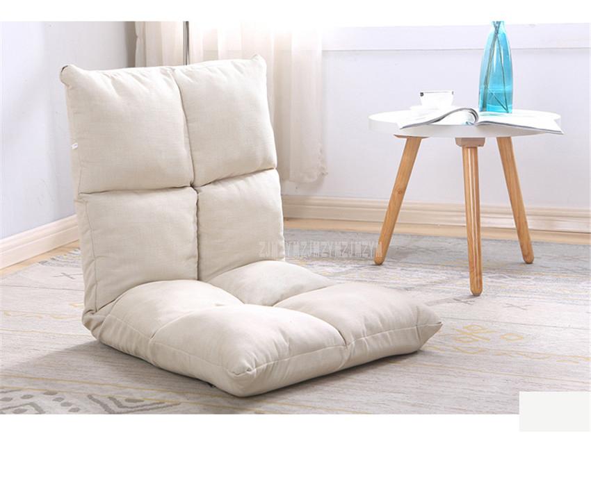 Single Living Room Sofa Eight Grids Lazy Tatami Lounge Sofa Japanese Style Folding Floor Chair Home Furniture Corner Sofa Bed