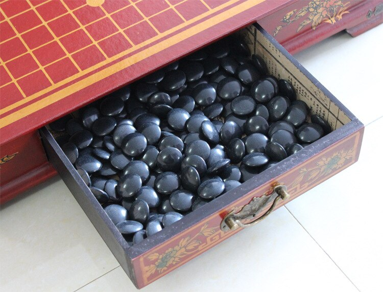 Go Game Go Chess Set Go Retro Antique Chess Weiqi Set Adult Children Go Chess Set Nice Wooden Chess Board Nice Gift