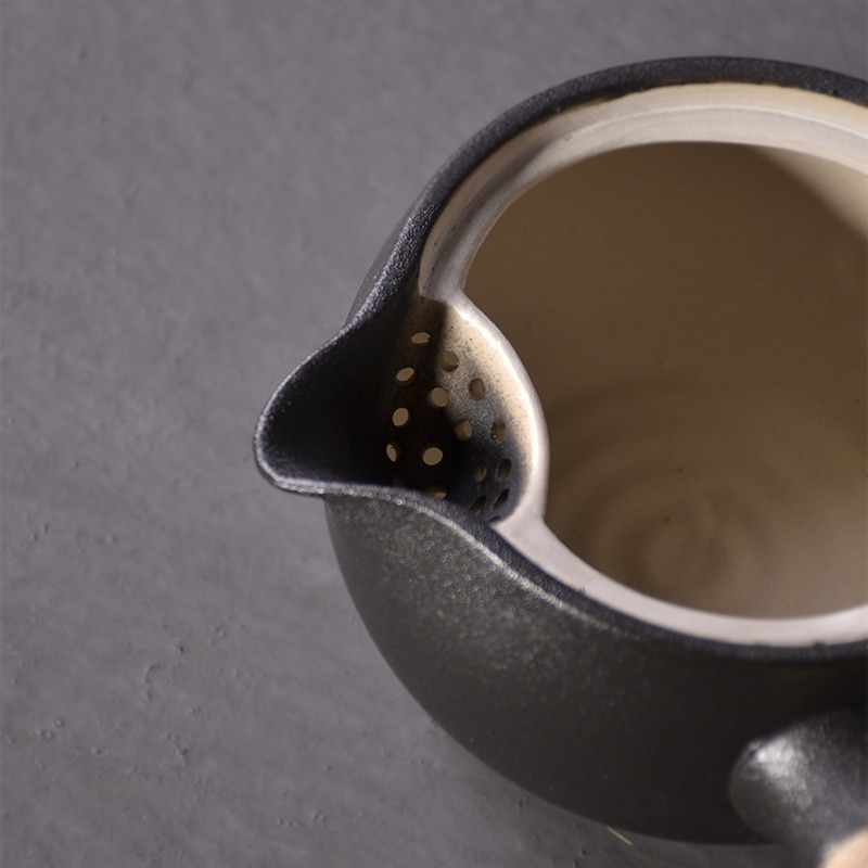 TANGPIN japanese black crockery ceramic teapots tea kettle chinese kung fu tea pot drinkware 500ml