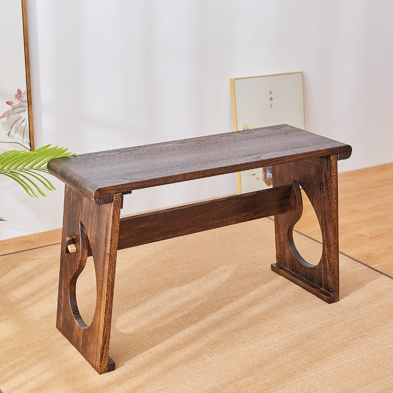 New Chinese Wooden Piano Table With Folding Legs Rectangle Tea & Coffee table Paulownia Wood Traditional Furniture Living Room
