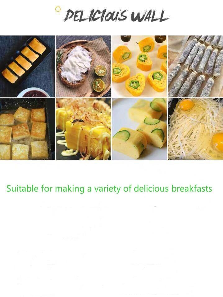 Melaleuca Coat Japanese Aluminum Alloy Tamagoyaki Omelette Pan Non-stick Frying Pan Fry Egg Pan Pancake Pot Cookware 15x18cm