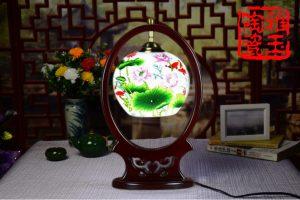 Modern Chinese Style Ceramic Lamp