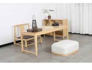 Bamboo Rattan Wood Tea Table Sets