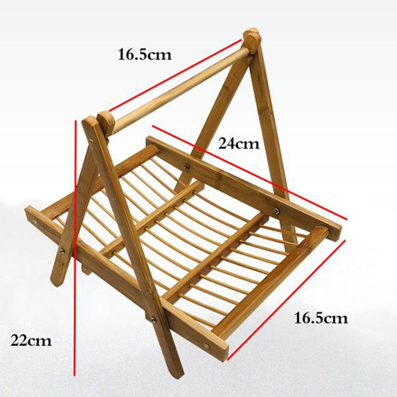 Hotpot Appetizers Display Wood Hanger Pasta Drying Rack Spaghetti Storage Stand collapsible noodle maker kitchen tool decoration