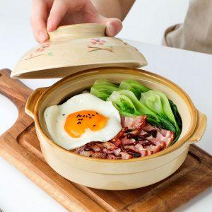 Ceramic Casserole Pot for Rice Dish