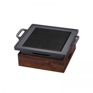 Portable Korean Style BBQ Non-Stick Grill