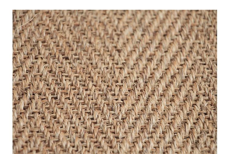 Cezanne New Nordic Simple Sisal Carpet Modern American Living Room Tea Table Study Bedroom Floor Mat