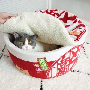 Japanese Ramen Noodle Cathouse!